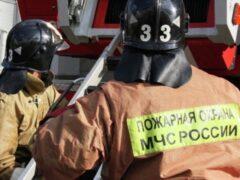 В Перми на шоссе Космонавтов загорелся автобус