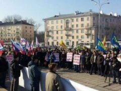 Состоявшийся в Пскове митинг в поддержку Гавунаса активно обсуждался в марте