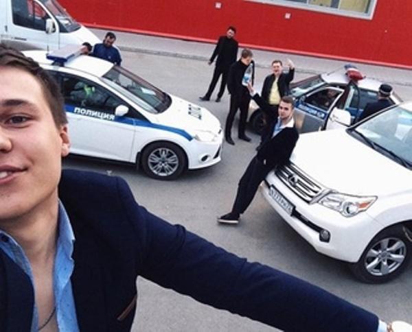 оскорбление полицейского