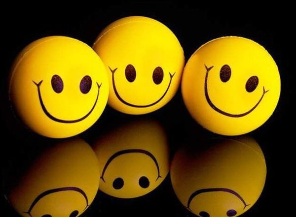 улыбка смех
