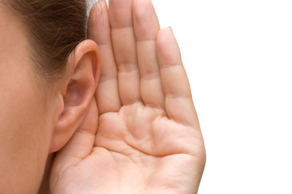 ухо слух