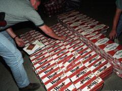 Контрабандные сигареты на 15 млн рублей задержаны на границе с Литвой