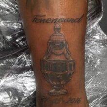 Игрок «Фейеноорда» сделал татуировку с двумя ошибками в названии клуба