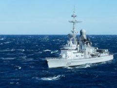 В акваторию Черного моря вошел французский ракетный фрегат