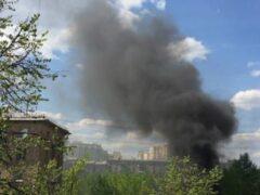 Жители юго-запада Москвы приняли взрыв помойки за теракт