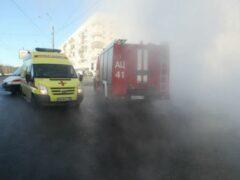 На северо-востоке Москвы прорван трубопровод