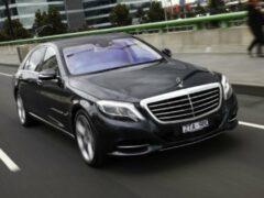 У безработной петербурженки угнали Mercedes за 10 миллионов