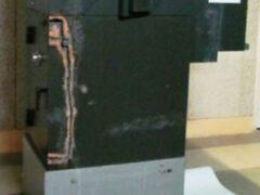 Преступники пытались вскрыть банкомат в столичной поликлинике