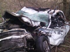 В Ленобласти в ДТП с лесовозом погибли три человека
