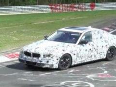 Фотошпионы опубликовали видео нового BMW 5-й серии