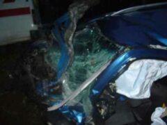 Под Новосибирском в лобовом ДТП погибли водители «Жигулей» и иномарки