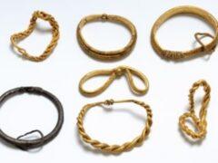 В Дании нашли крупнейший в истории золотой клад викингов