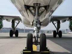 У самолета лопнуло колесо при посадке в аэропорту «Внуково»