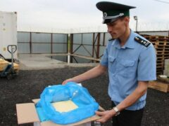 В Петербурге сожгли полтонны контрафактного сливочного масла