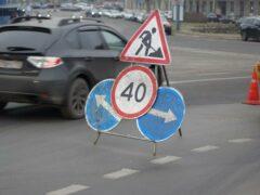 В Петербурге перекрыли шоссе Революции из-за угрозы провала асфальта