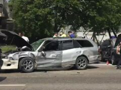 Четыре человека пострадали в ДТП на юге Москвы