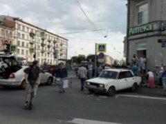 Петербург: Четыре пешехода пострадали в ДТП на Лиговском проспекте