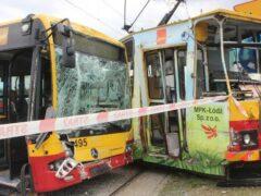 Польша: При столкновении автобуса с трамваем пострадали 25 человек