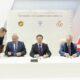 Вагит Алекперов, Владимир Мединский и Михаил Пиотровский в Петербурге подписали соглашение о сотрудничестве