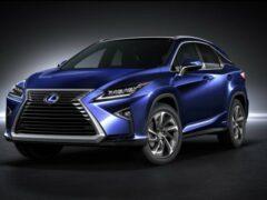 Lexus RX признан самым популярным премиальным автомобилем