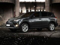 Новый Toyota RAV4 появится в России с двумя вариантами двигателей