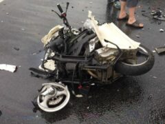 В Ленобласти мотоциклист погиб от столкновения с мусоровозом