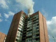 Петербург: При пожаре в коммуналке на проспекте Ударников погибла женщина