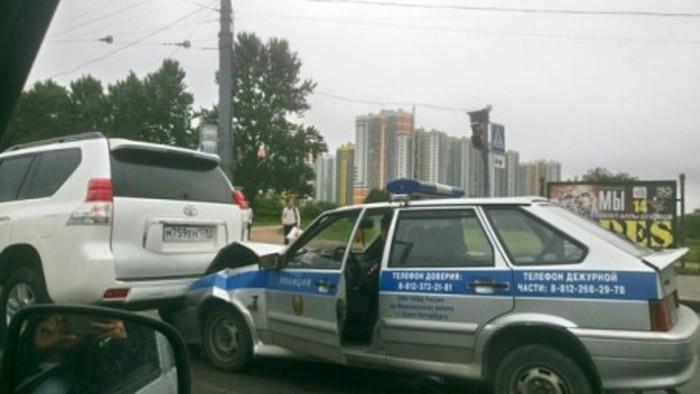 ДТП ВАЗ полиции