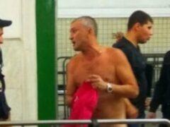 Раздевшийся в столичном метро мужчина арестован на пять суток