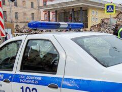 «Жигули» сбили бабушку с внуком на остановке в Подмосковье