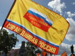 С глаз долой: В Луге провели спецоперацию по демонтажу баннеров «Справедливой России»