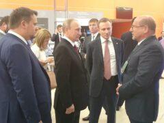 Президент Путин заинтересовался проектами компании «Интерскол»
