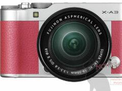 Беззеркальный фотоаппарат Fujifilm X-A3 засветился в Сети
