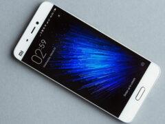 Xiaomi снизила расценки на смартфон модели Mi5