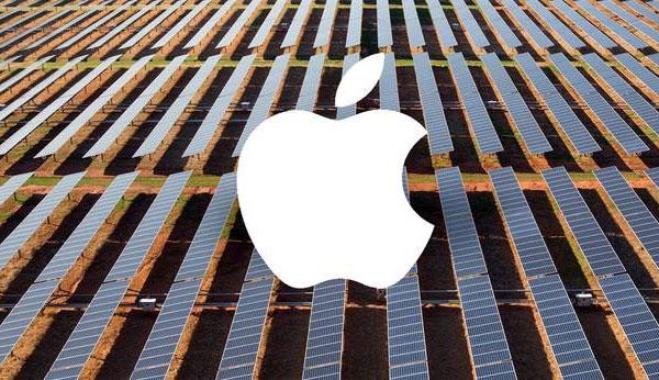 Apple, электроэнергия