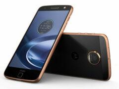 В сети появились живые фото смартфона Moto Z Play