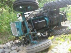 На Кубани подросток погиб, упав на тракторе в оросительный канал