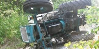 ДТП трактор