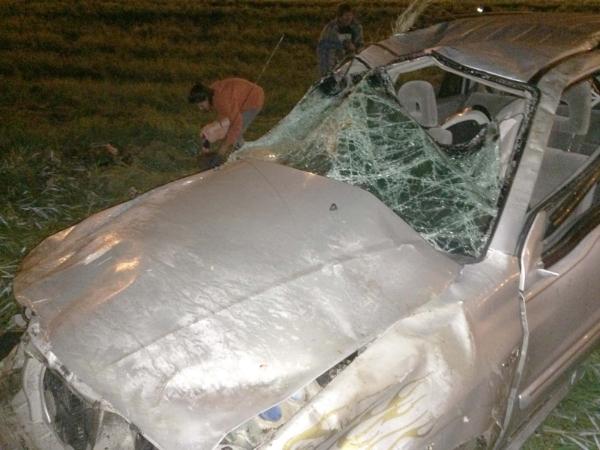 Натрассе «Крым» разбился кроссовер: умер ребенок, еще два человека в клинике