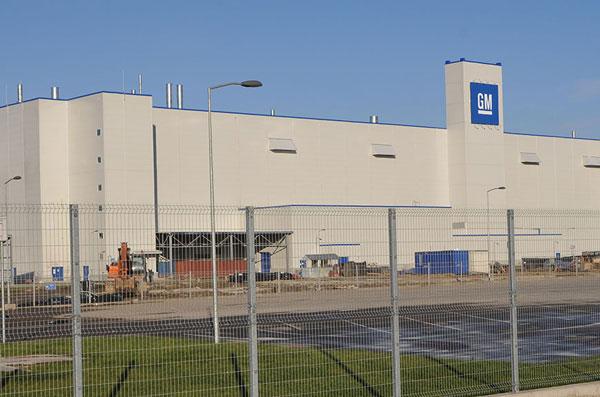 завод General Motors в Петербурге