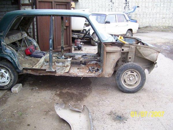 разобранное авто