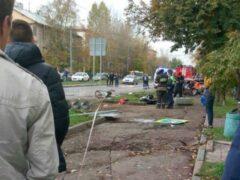 Протаранивший остановку в Москве автомобиль был взят в аренду