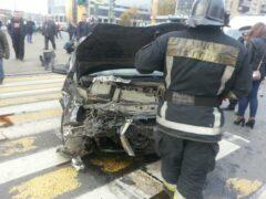 Петербург: Женщины-водители и ребенок пострадали в аварии на Маршала Говорова