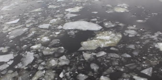 вода лед