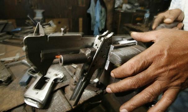 переделка пистолета