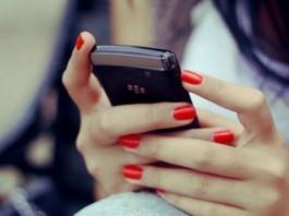 телефон девушка