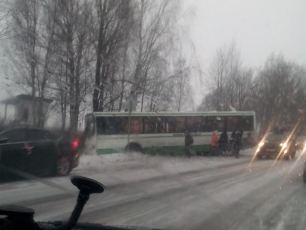 ДТП автобус