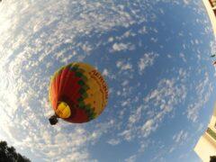 В Пятигорске воздушный шар с пассажирами врезался в деревья