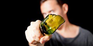 горлышко разбитой бутылки