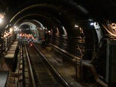 Пьяный пассажир остановил движение поездов на «синей» ветке метро